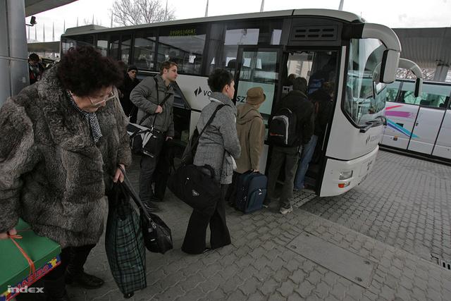 Volán járat MÁV-sztrájk idején