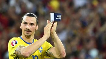 Isten visszatérése: Ibrahimovic újra a svéd válogatott keretében