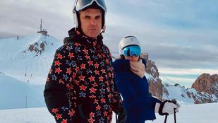 Robbie Williams Svájcba költözött, agyrázkódást kapott szánkózás közben