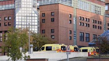 Öt embert sebesített meg a Honvédkórházban a Covid-osztály ámokfutója