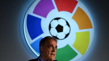 Áll a bál Spanyolországban: a szövetség a liga elnökének lemondását követeli