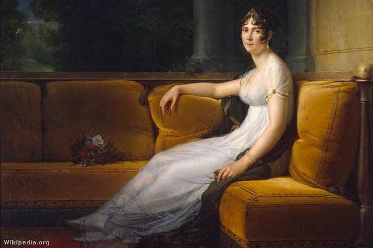 Joséphine de Beauharnais, Malmaison kastély, 1801