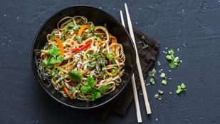 Zöldséges udontészta – klassz vega fogás ázsiai hangulatban