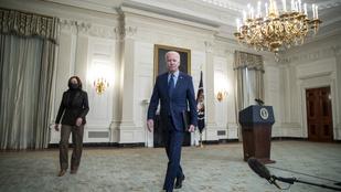 Joe Biden és Kamala Harris kicsit túltolta a jövést, mémesedtek