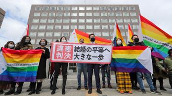 Japánban alkotmányellenesnek nyilvánították, hogy azonos neműek nem köthetnek házasságot