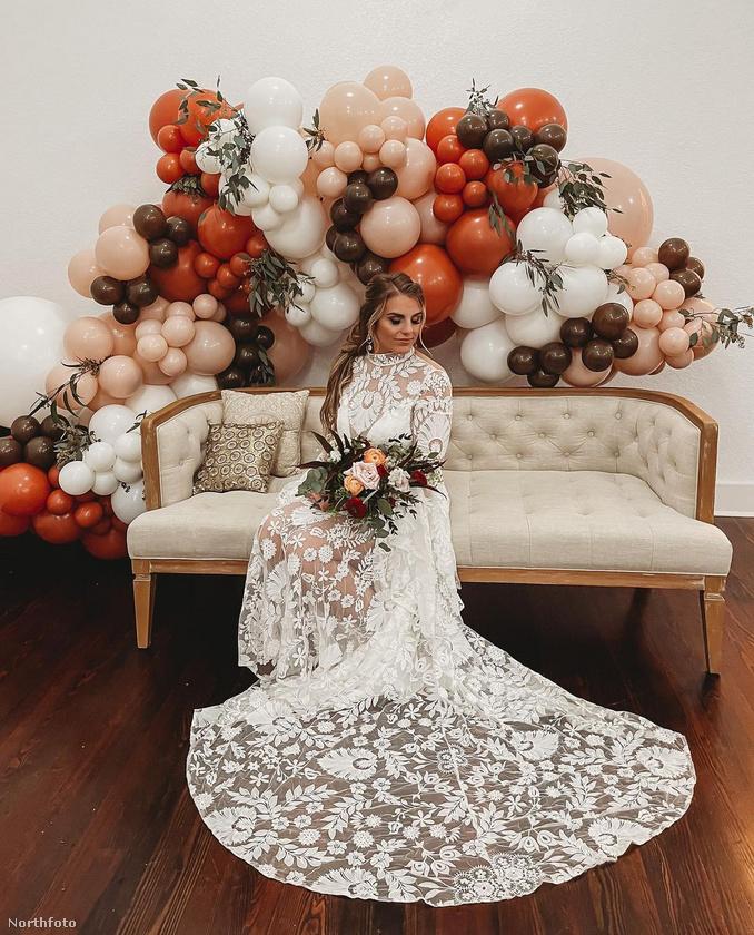 Párjával az esküvőt is megtartották idén márciusban.