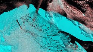 A legnagyobb jéghegy akkora volt, mint az Északi-középhegység
