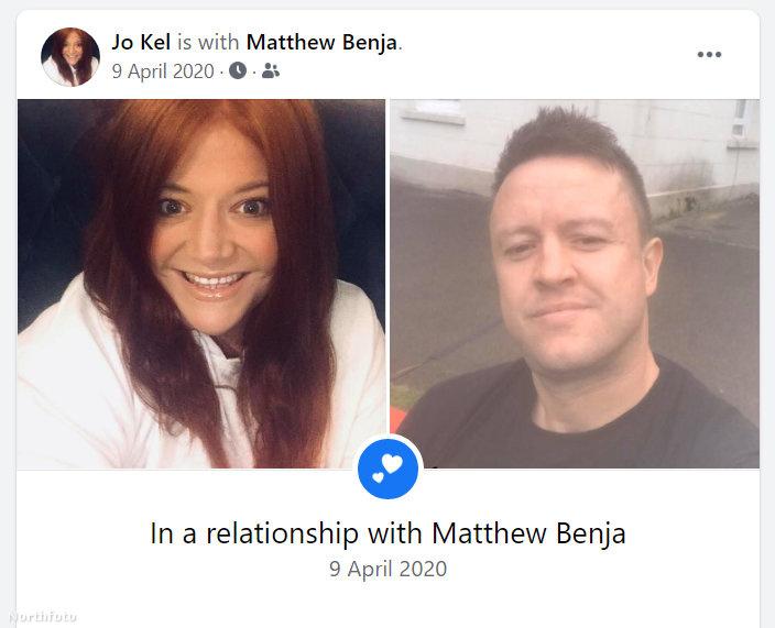 Persze a Facebookra is kirakták, hogy kapcsolatban vannak