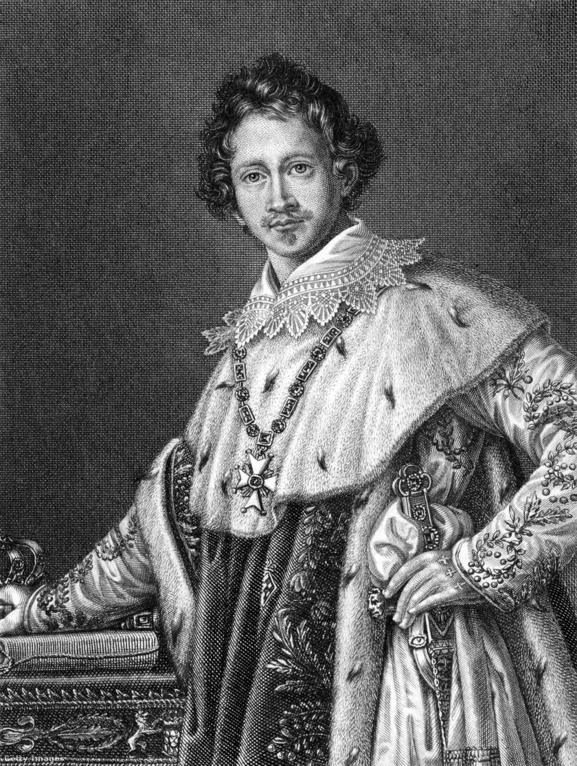 I. Lajos bajor király.