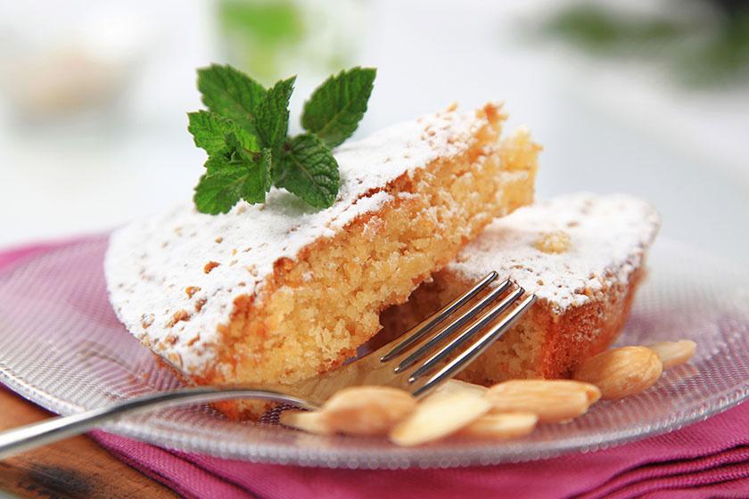 citromos mandulás torta