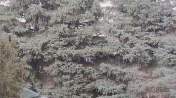 Jégeső esett Budapesten és környékén