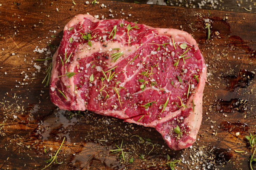 steak fűszerekkel belső