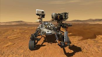 Furcsa hangokat rögzítettek a Marson