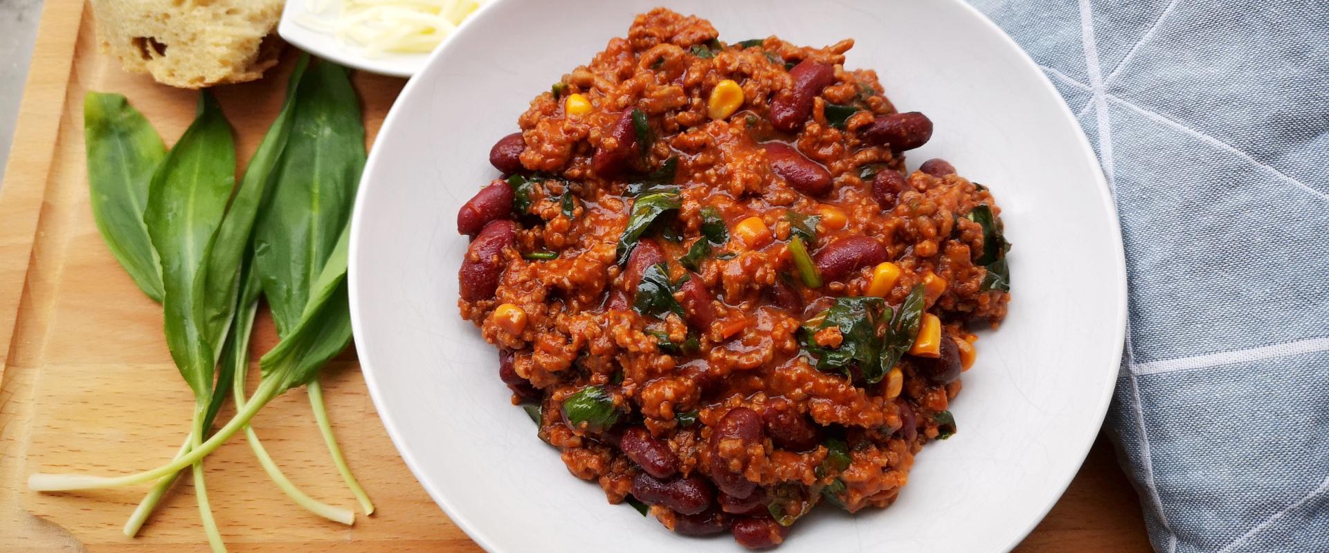 medvehagymás chilis bab cover