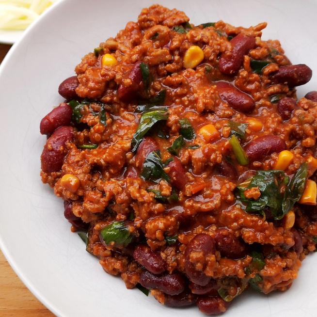Fűszeres, medvehagymás chilis bab- A klasszikus recept szezonálisan