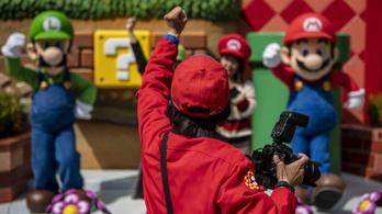 Megnyílt a Super Mario élménypark