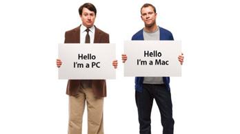 """Az Intelt reklámozza a """"Mac vagyok"""" fickó"""
