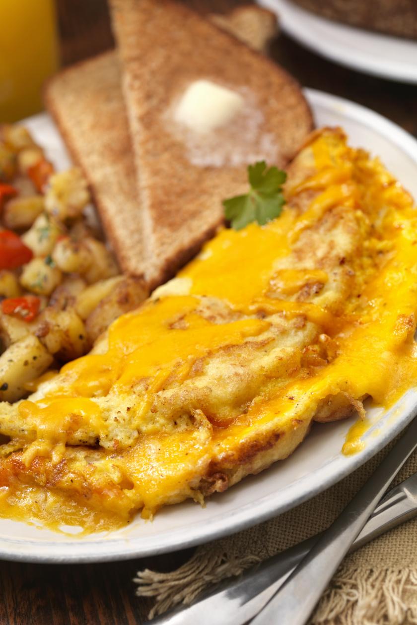 omlett álló ok