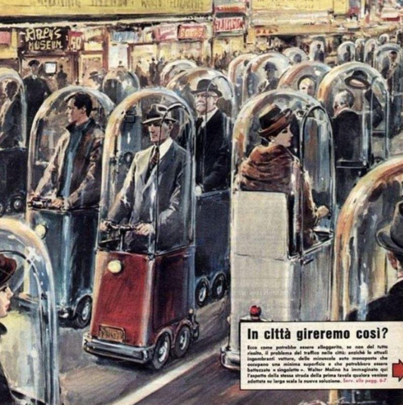 1962-ben ilyennek látták 2022-t. Akkor még nem sejthették, milyen járványügyi helyzet lesz a világban, de az elképzelés akár most is hasznos lehetne.