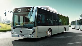 A Mercedes nyerte a BKV gázbuszos tenderét