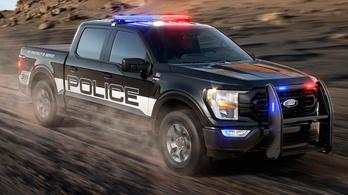 Már platós elfogóautót is kínál a Ford