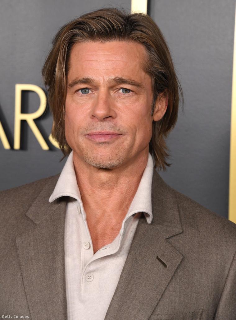 Brad Pitt tavaly februárban