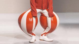 Megcsinálta a szerencséjét egy fiatal brit tervező, amikor feltalálta a felfújható nadrágot