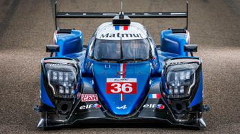 Ezzel indul Le Mans-ban az Alpine