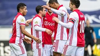 Ajax–Roma a nyolc között, spanyol csapatot kapott az MU