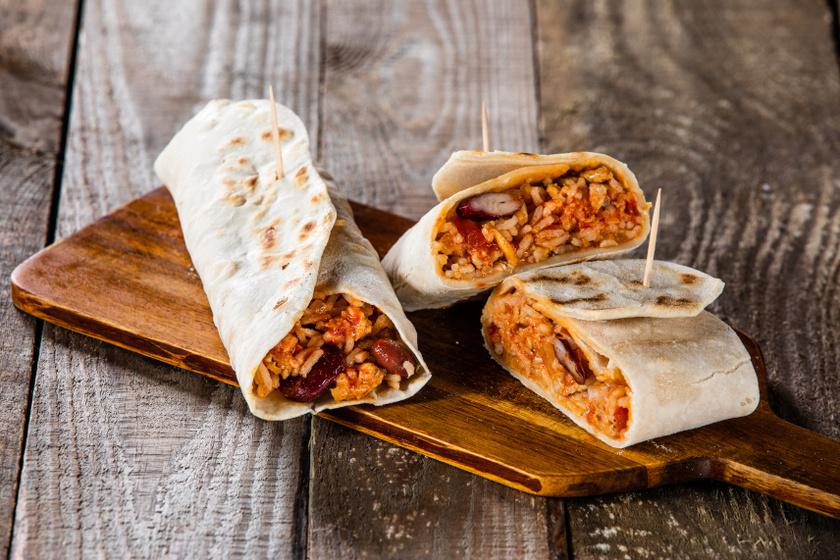 rizses babos burrito recept