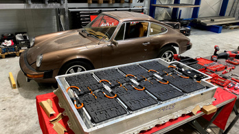 Porsche 912E elektromos átépítés | Galvanikus Kozma Gréta 1.