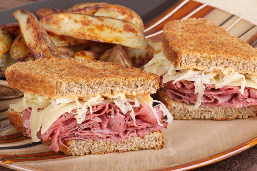 reuben szendvics recept