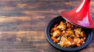 Kedvenc húsfélénk új arca: marokkói csirkeegytál jó fűszeresen