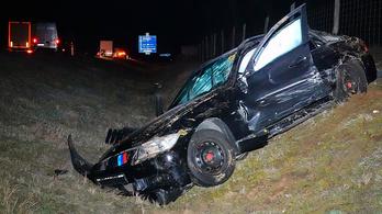 Tömegbalesetet okozott a külföldi sofőr, aki az M5-ösön szembement a forgalommal
