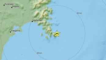7-es erősségű földrengés volt Japánban, cunami miatt kiadták a figyelmeztetést