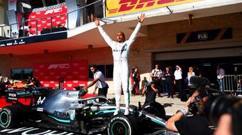 Rekord rekord hátán, de van, amire még Hamiltonnak sincs esélye