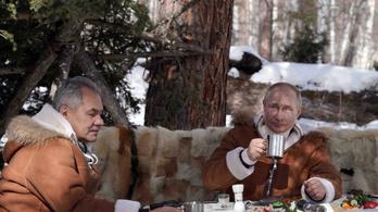 Vlagyimir Putyin nagyon adott az érzésnek a hétvégén