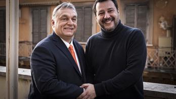 Salvini csábítgatja Orbánt, koalíciót akar a Fidesszel az EP-ben