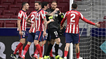 Nyert az Atlético, de Oblak volt a hős