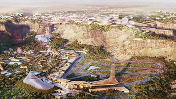 Egész várost építenének a motorversenyeknek Szaúd-Arábiában