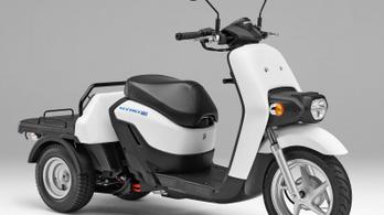 Elkészült az elektromos Honda Gyro