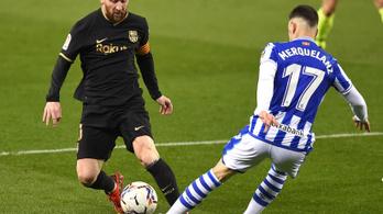 Erődemonstrációt tartott a Barca a Sociedad otthonában
