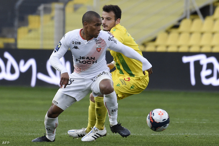 Armand Laurienté a Ligue 1 vasárnapi fordulójában 2021. március 21-én.
