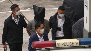 Nyolc hongkongi aktivistát kiengedtek Kínából