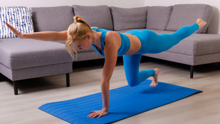 Edzés otthon: 6 remek gyakorlat a core-izmok erősítéséhez, ha unod a planket