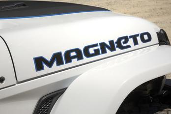 Magneto, az elektromos Jeep Wrangler
