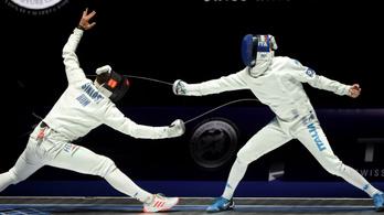 Ráadástussal kikapott, lemarad az olimpiáról a férfi párbajtőrcsapat