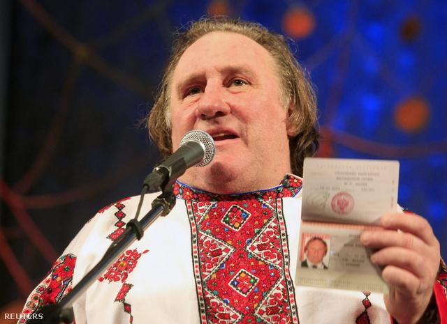 Gerard Depardieu orosz útlevelével