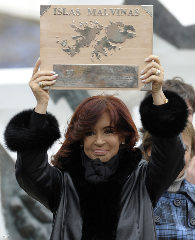 Cristina Fernandez de Kirchner argentín elnök