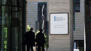 A Bundesbank három százalék körüli GDP-zuhanást prognosztizál